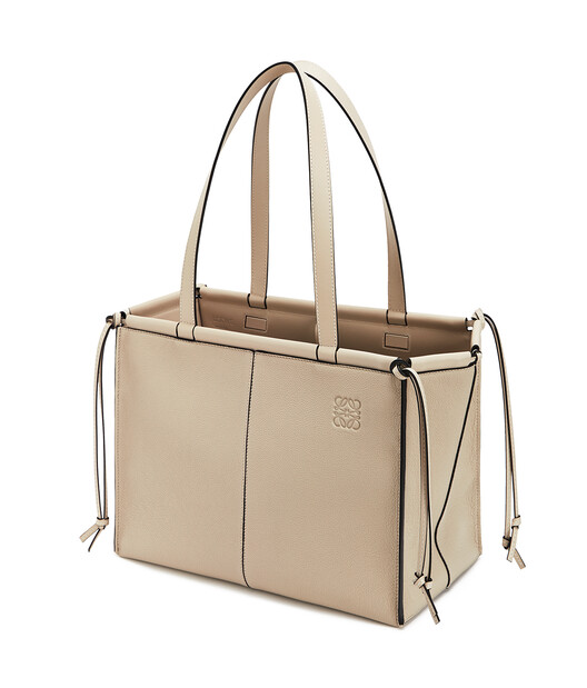 LOEWE Cushion Tote Light Oat  front