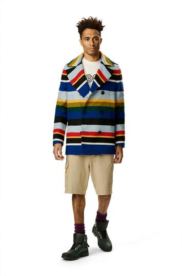 LOEWE Eln Stripe Peacoat Multicolor front