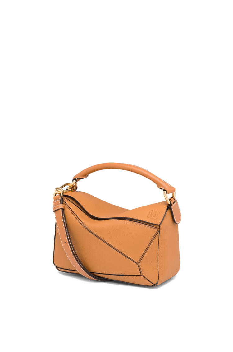 LOEWE Small Puzzle Bag In Soft Grained Calfskin Light Caramel pdp_rd