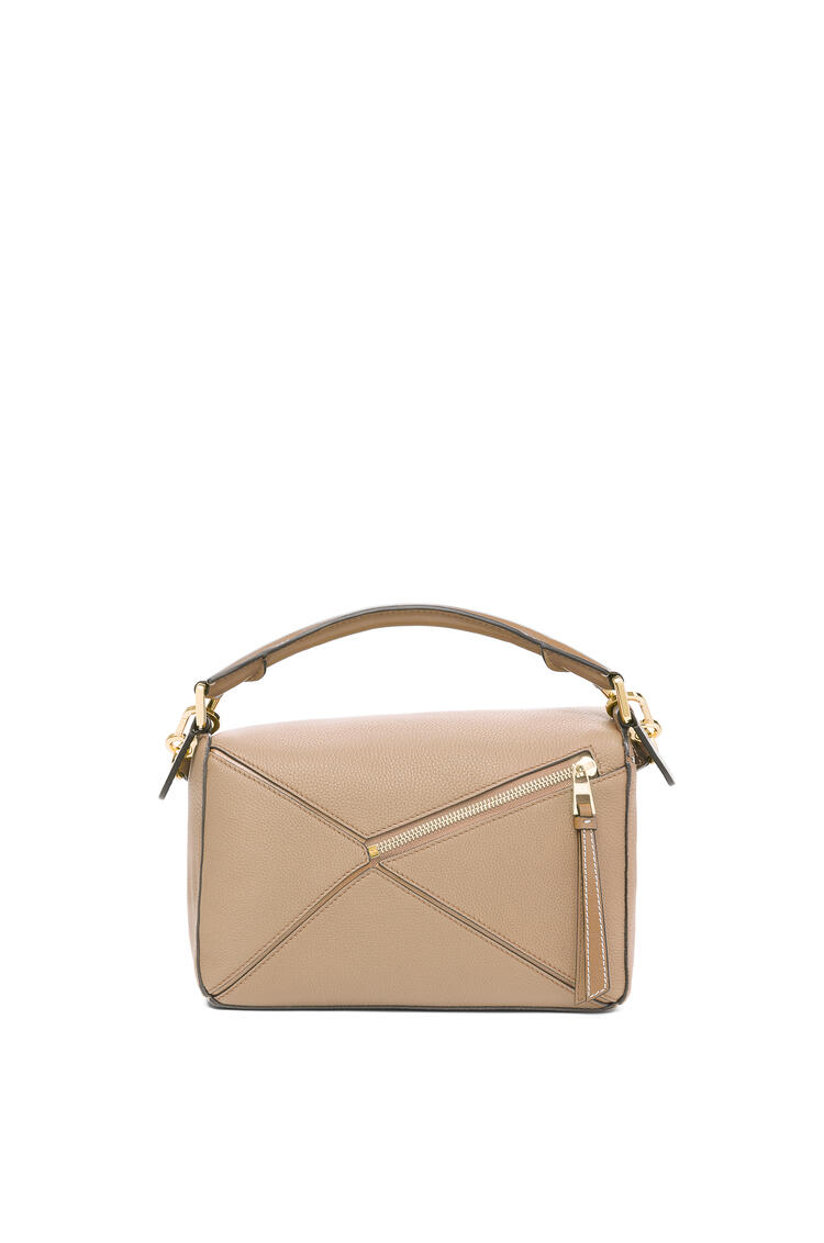 LOEWE Small Puzzle bag in soft grained calfskin Sand/Mink Color pdp_rd
