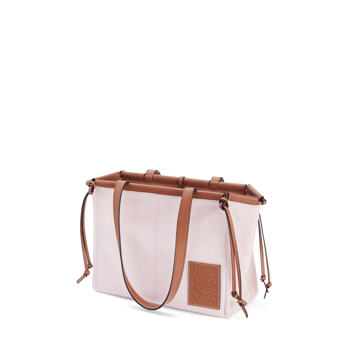 LOEWE Cushion Tote Small Bag Light Pink front