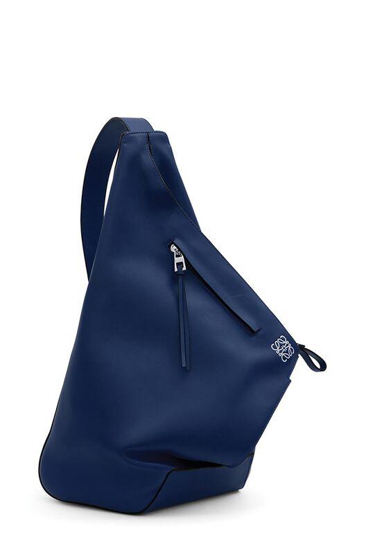 LOEWE Anton Backpack Navy Blue all