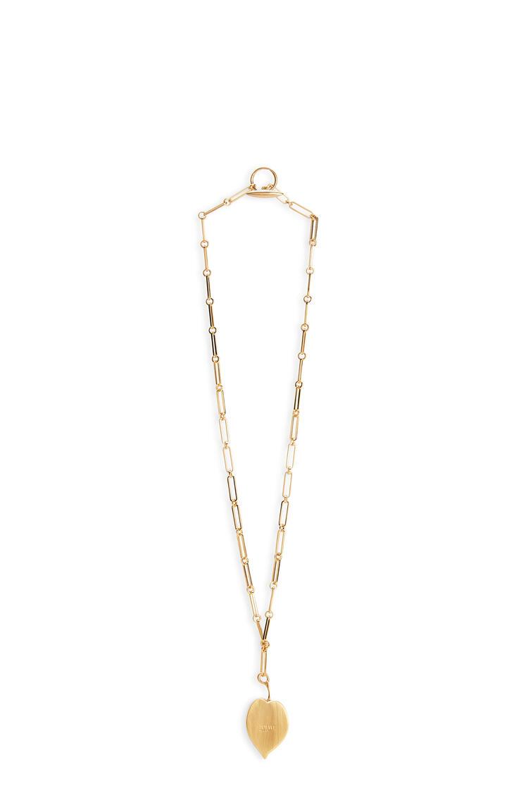 LOEWE Leaf necklace Black pdp_rd