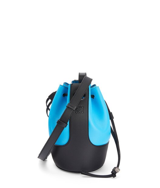 LOEWE Balloon Small Bag Topaz Blue/Black front