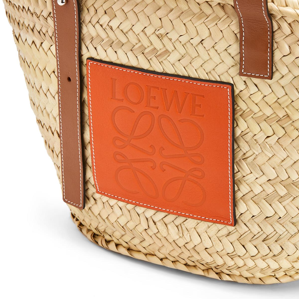 LOEWE Basket Natural/Orange front