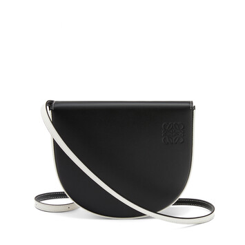 LOEWE Heel Bag Black/Soft White front