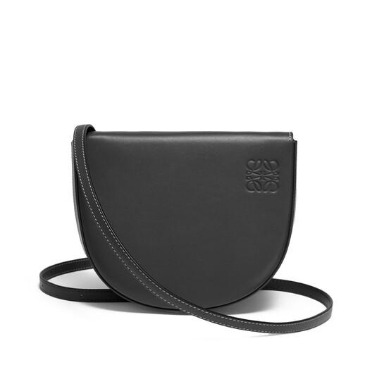 LOEWE Heel Mini Bag 黑色 front