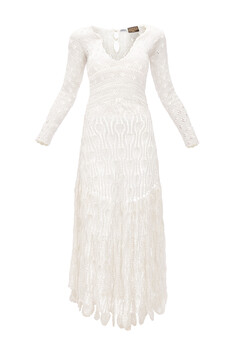 b00111eaae Tunic Dress Broderie Anglaise White - LOEWE
