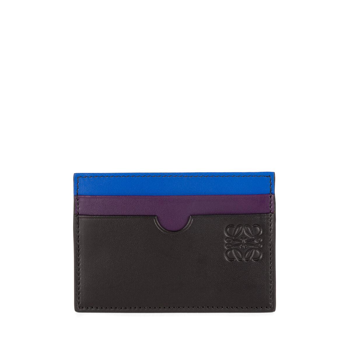 LOEWE Rainbow Plain Cardholder Multicolor front