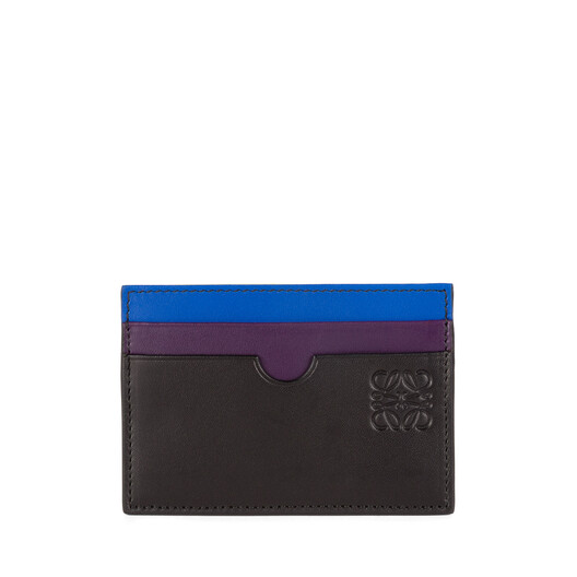 LOEWE Rainbow Plain Cardholder 多色拼接 front