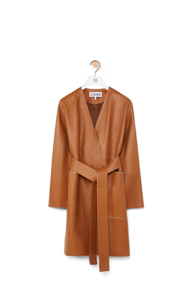 LOEWE Short Coat Tan pdp_rd
