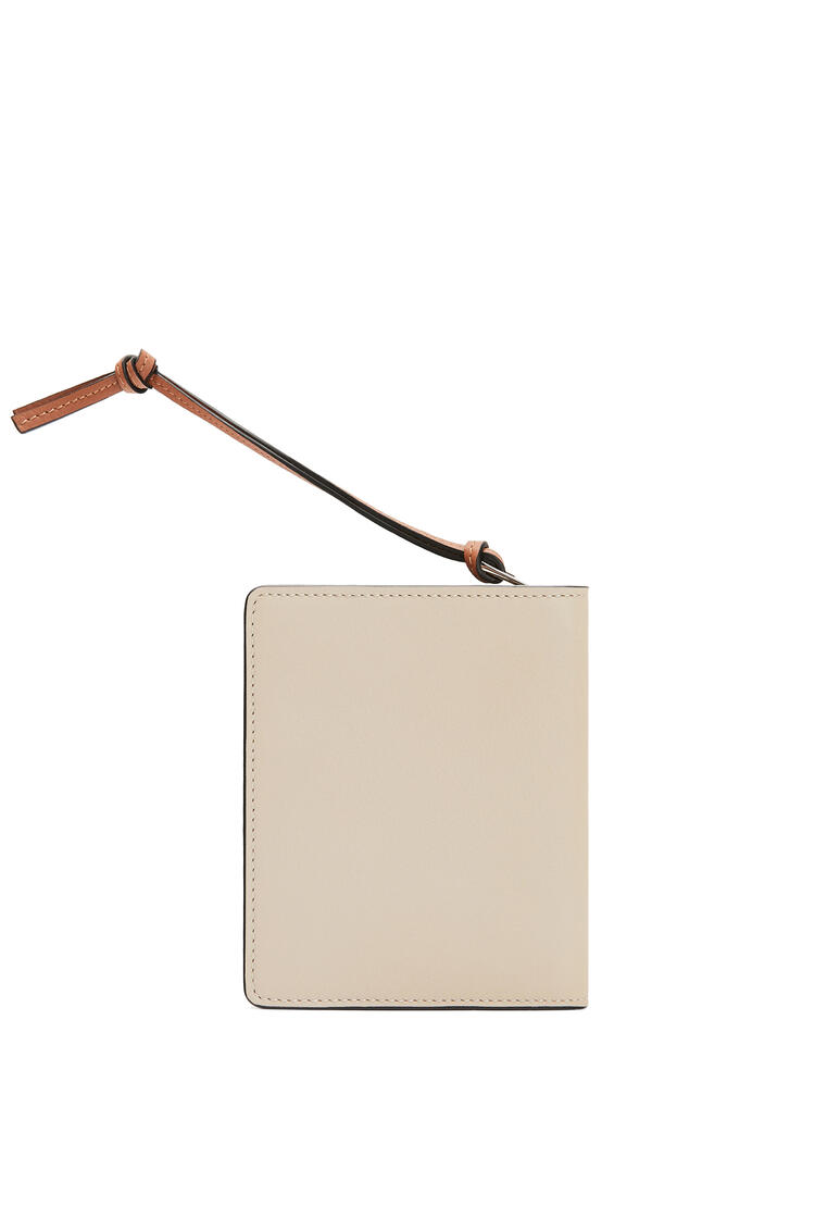 LOEWE Compact zip wallet in classic calfskin Light Oat/Tan pdp_rd
