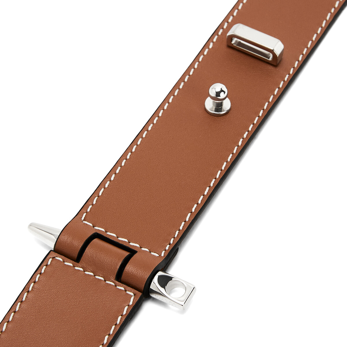 LOEWE Gate  Bracelet 棕褐 front