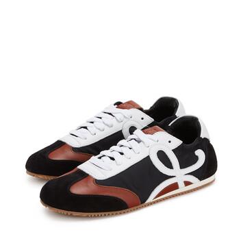 LOEWE Sneaker Negro/Blanco/Marron front