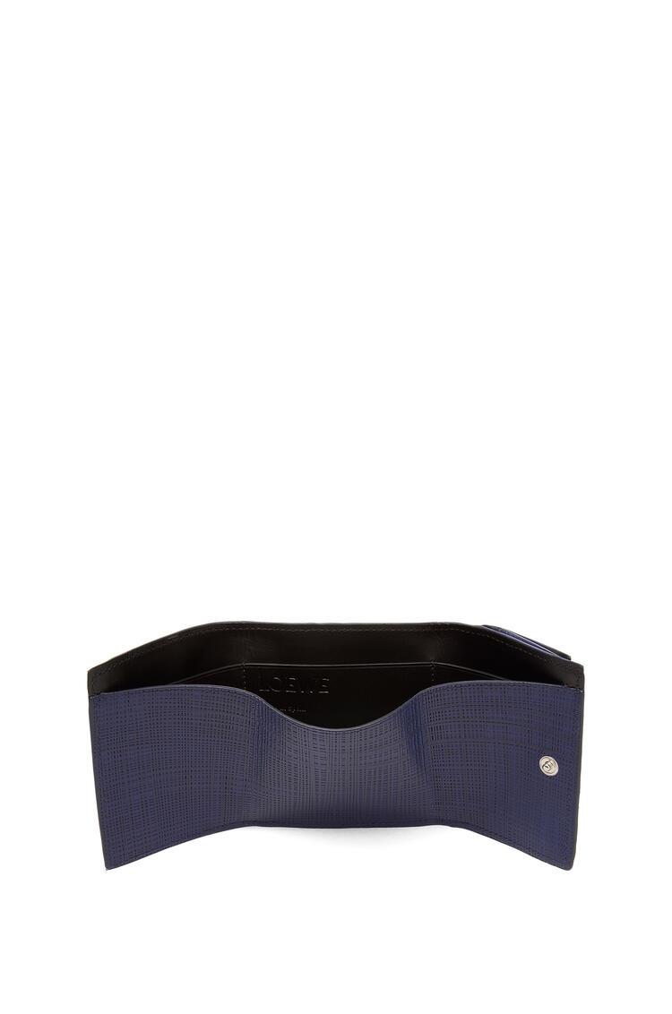LOEWE Trifold Wallet In Calfskin 海軍藍 pdp_rd