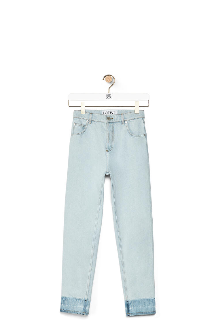 LOEWE 斜纹牛仔裤 淡蓝色 pdp_rd