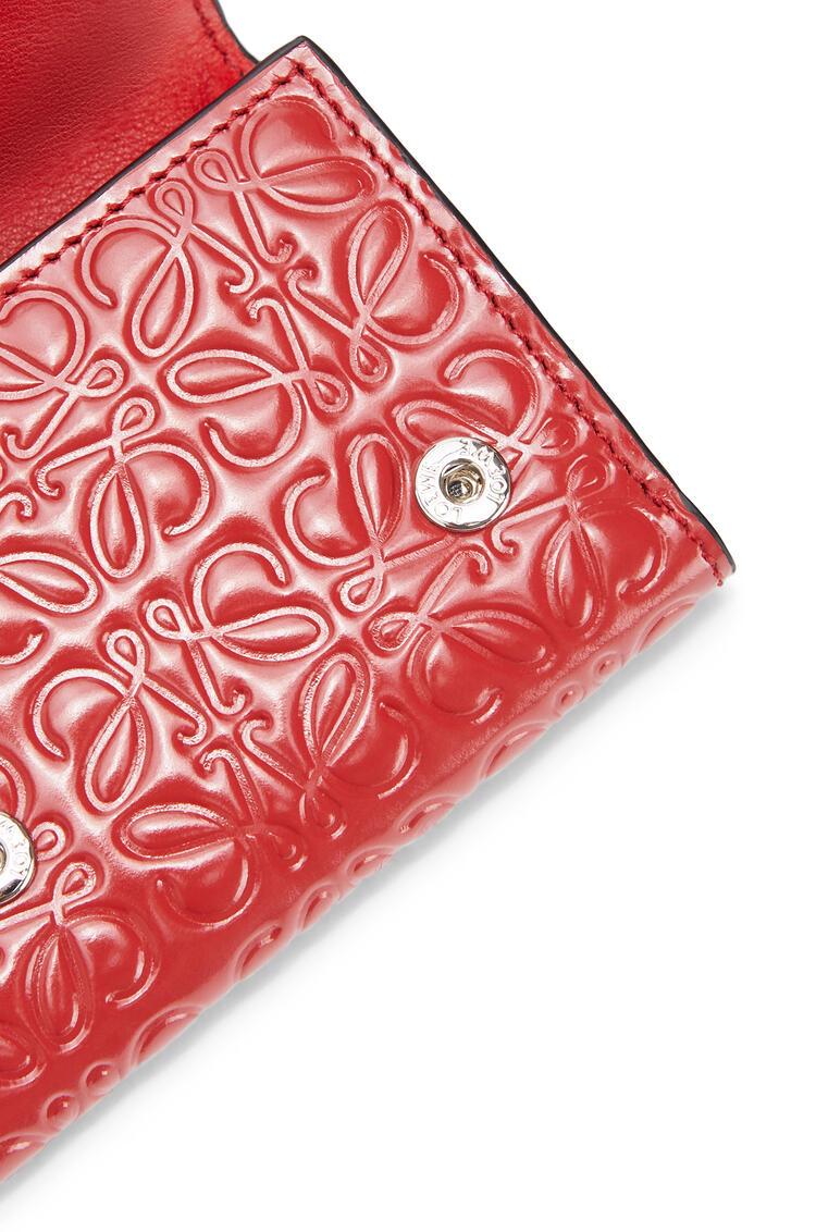 LOEWE Trifold wallet in calfskin Pomodoro pdp_rd