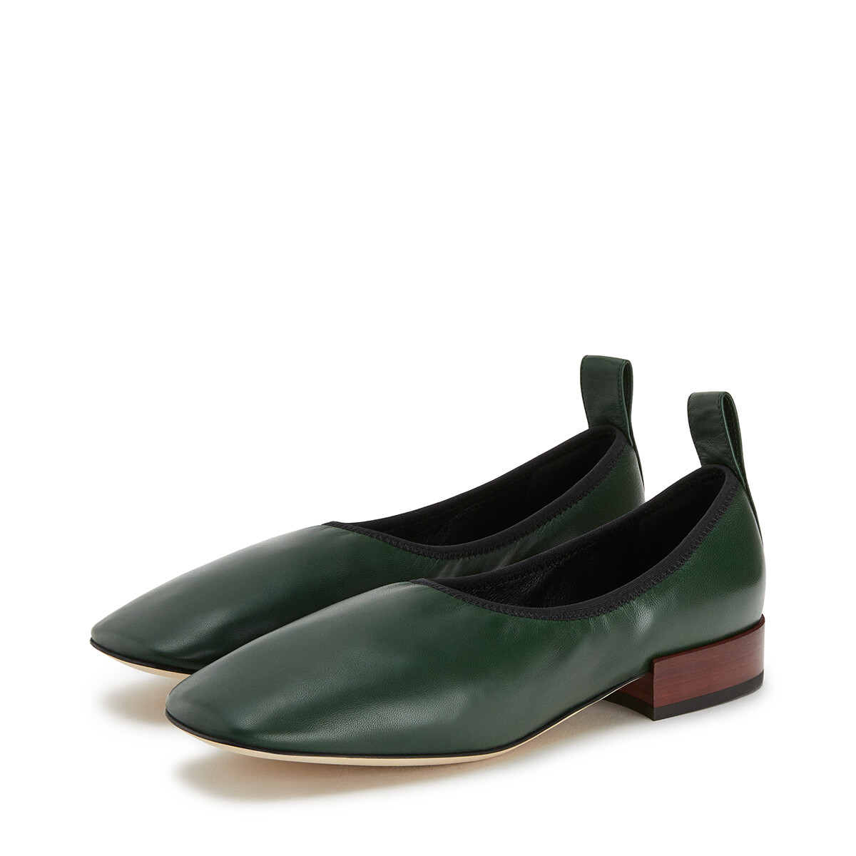 LOEWE Soft Ballerina 25 Forest Green front