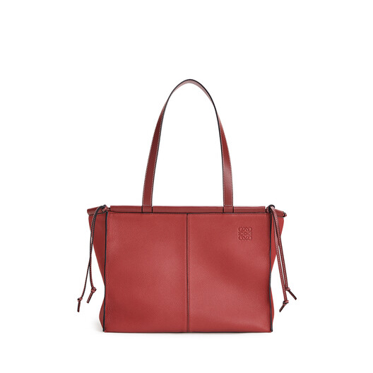LOEWE Cushion Tote Small Garnet front