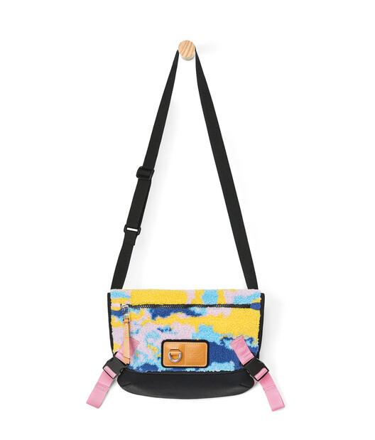 LOEWE Eye/Loewe/Nature Messenger Camo Small Bag Multicolor front