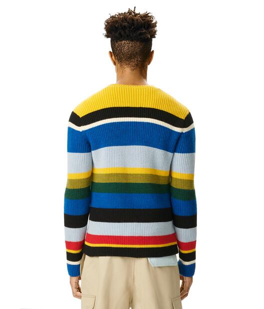 LOEWE Eln Stripe Sweater Multicolor front