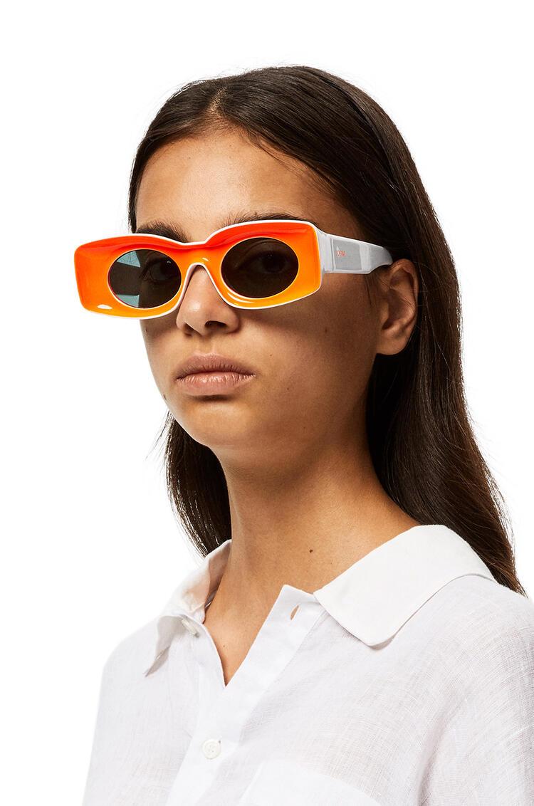 LOEWE Sunglasses in acetate Neon Orange pdp_rd