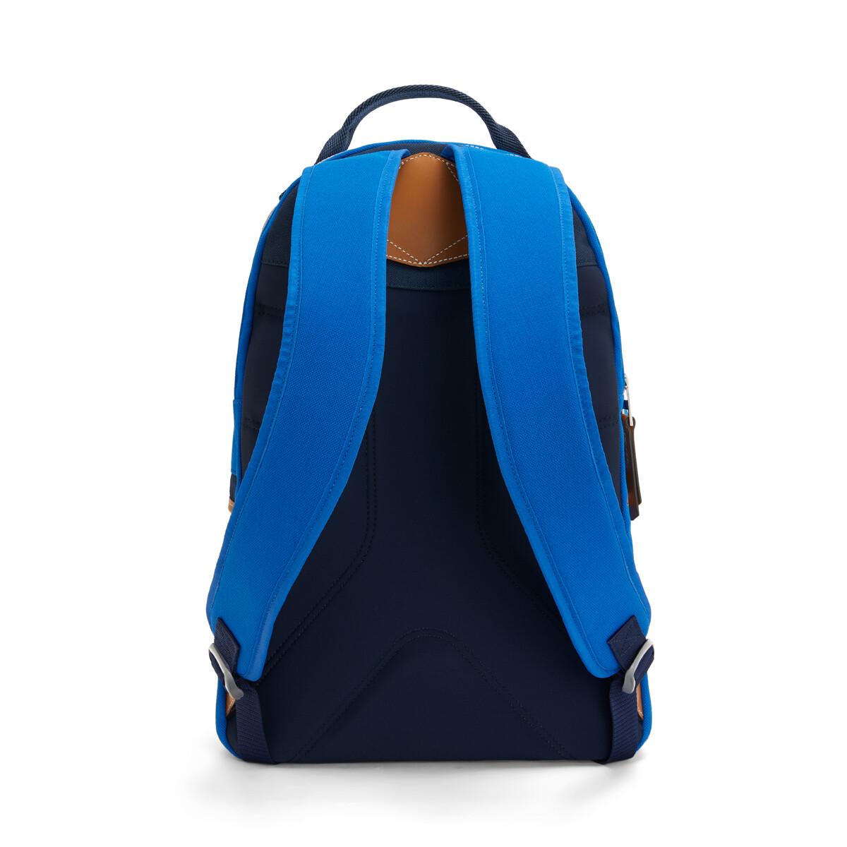 LOEWE Eye/Loewe/Nature Backpack Small Electric Blue/Navy Blue front