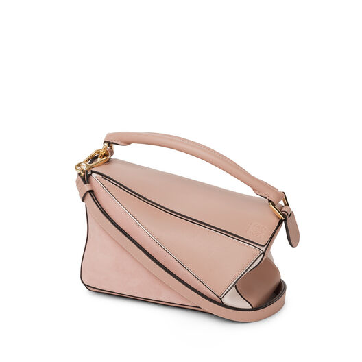 LOEWE Puzzle Small Bag Blush Multitone all