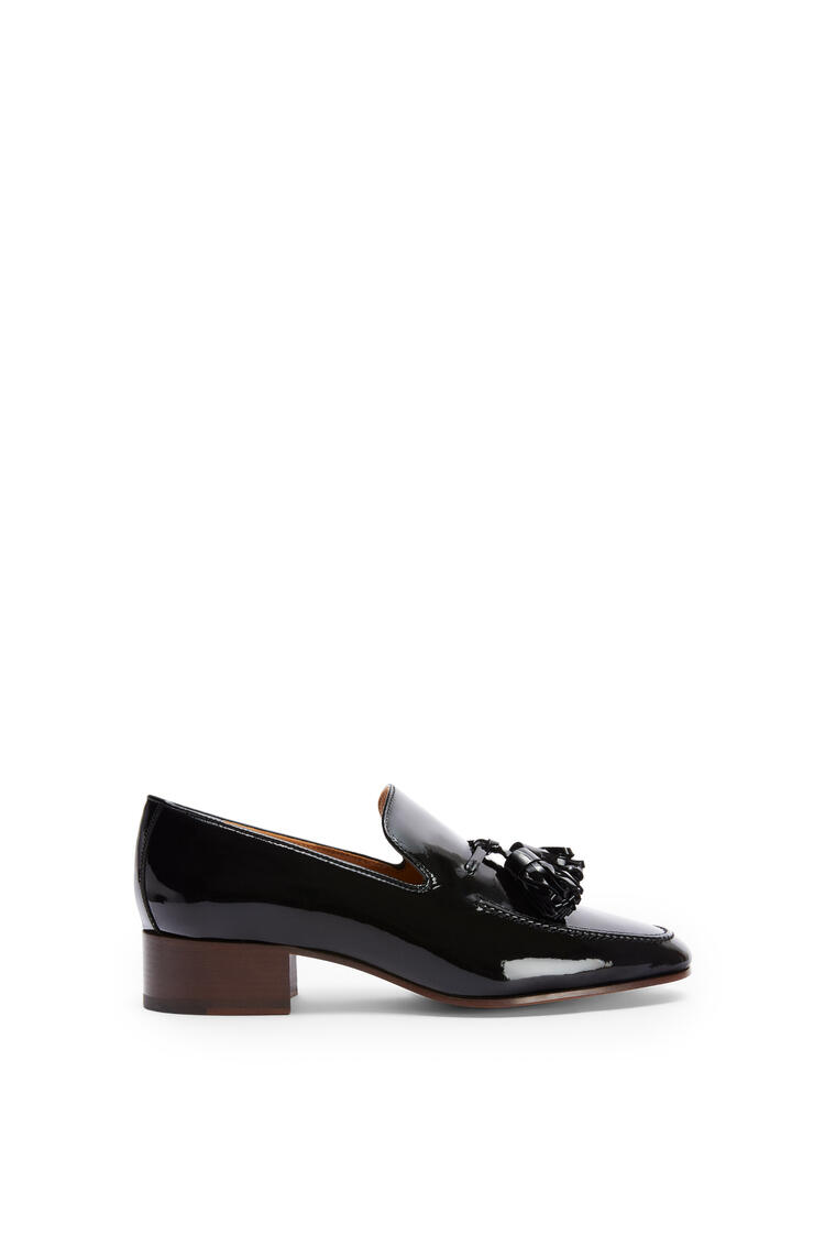 LOEWE Pompon loafer 40 in calf Black pdp_rd