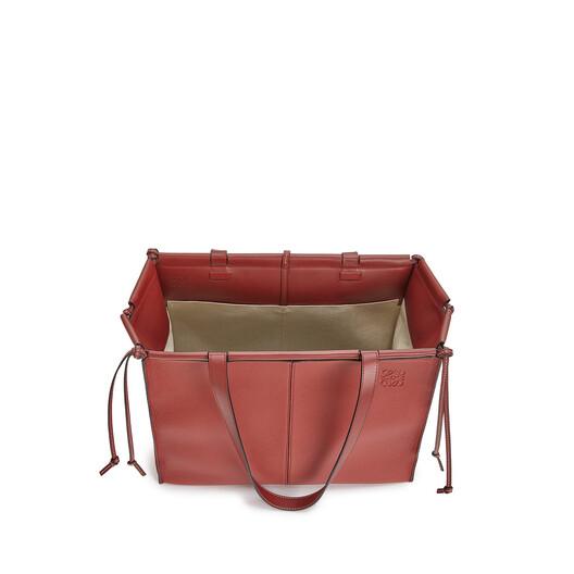 LOEWE Cushion Tote Bag 石榴红 front