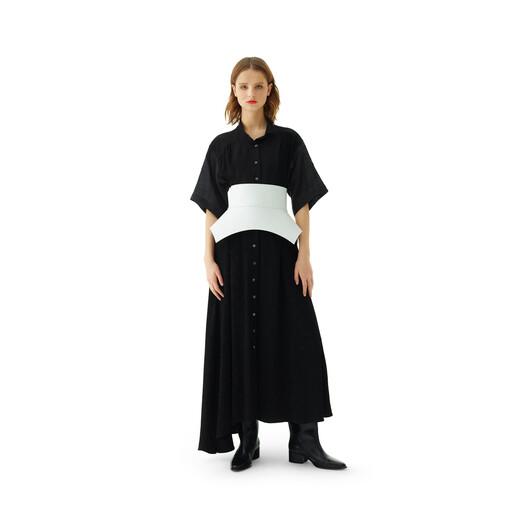 LOEWE Obi Belt White front