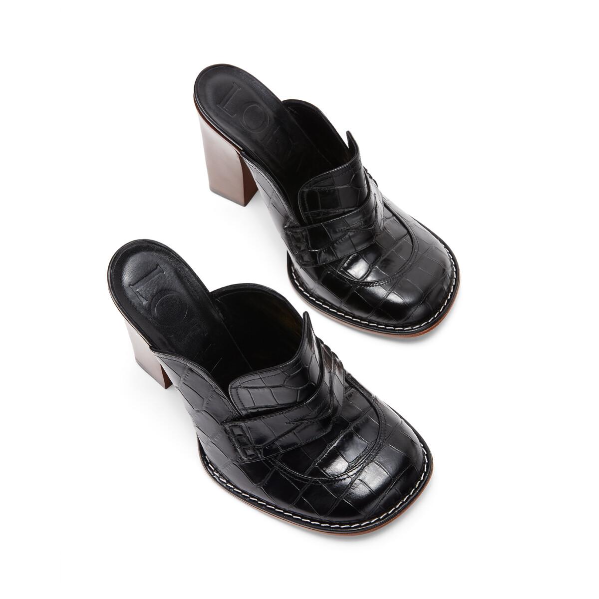 LOEWE Loafer 90 Black front