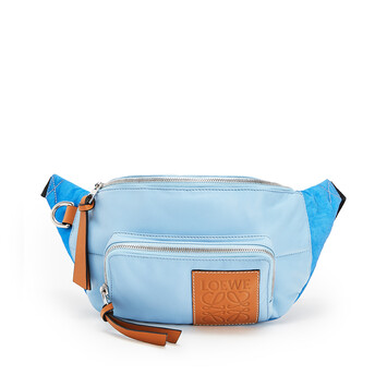 LOEWE Bumbag Puffy Light Blue front