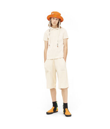 LOEWE Paula Towel Shorts calico front