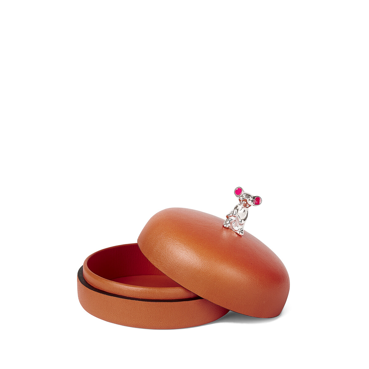LOEWE Box Mouse Small Pecan front