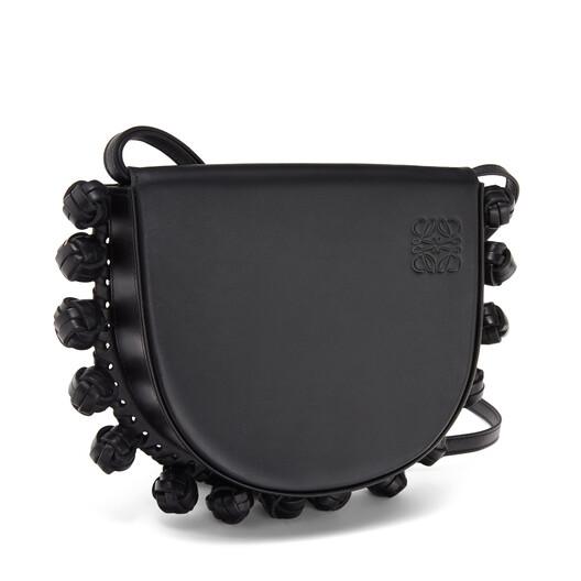 LOEWE Heel Knots Bag Black front