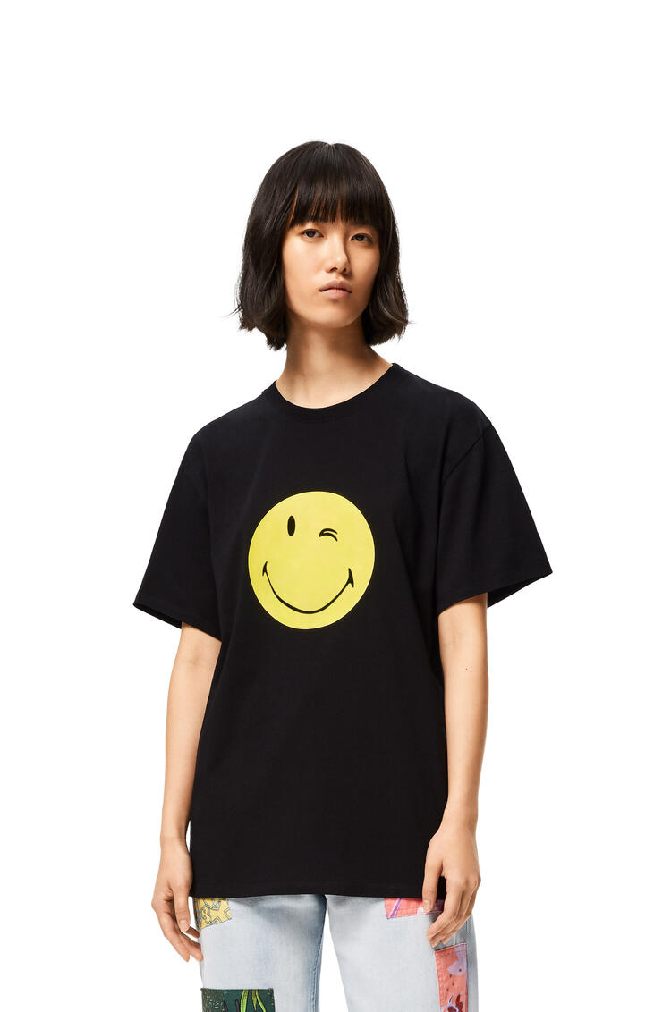 LOEWE スマイリーワールド Tシャツ (コットン) ブラック pdp_rd
