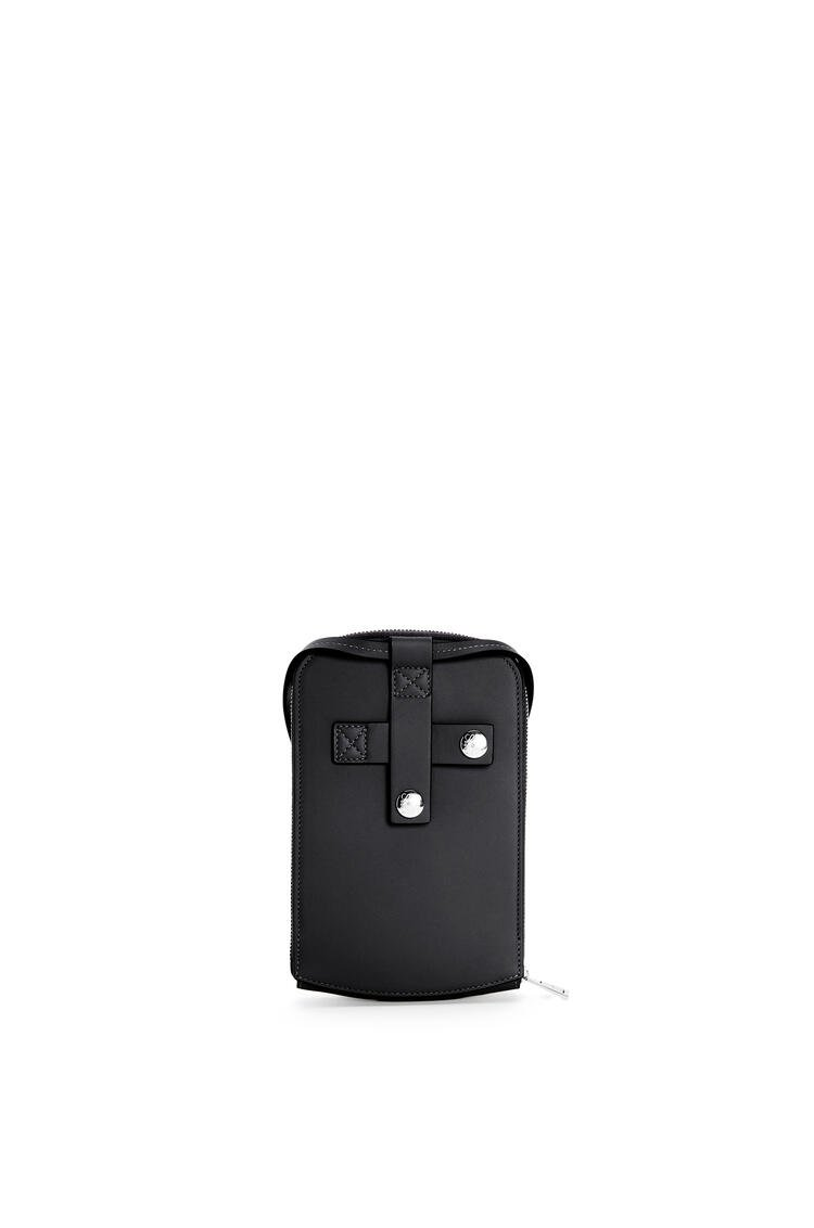 LOEWE Brand multi-functional case in smooth calfskin Black pdp_rd