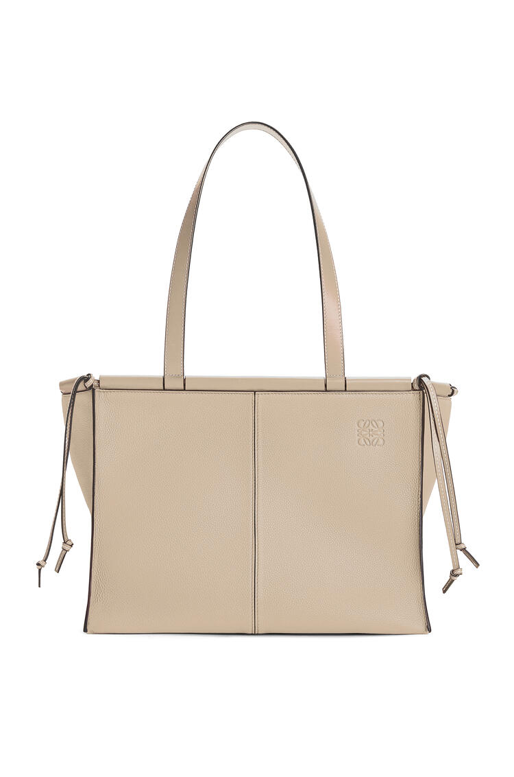LOEWE 柔软粒面小牛皮 Cushion Tote 手袋 Light Oat pdp_rd