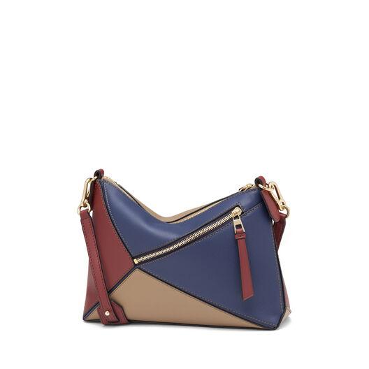 LOEWE Puzzle Pochette Bag Brick Red/Almond all