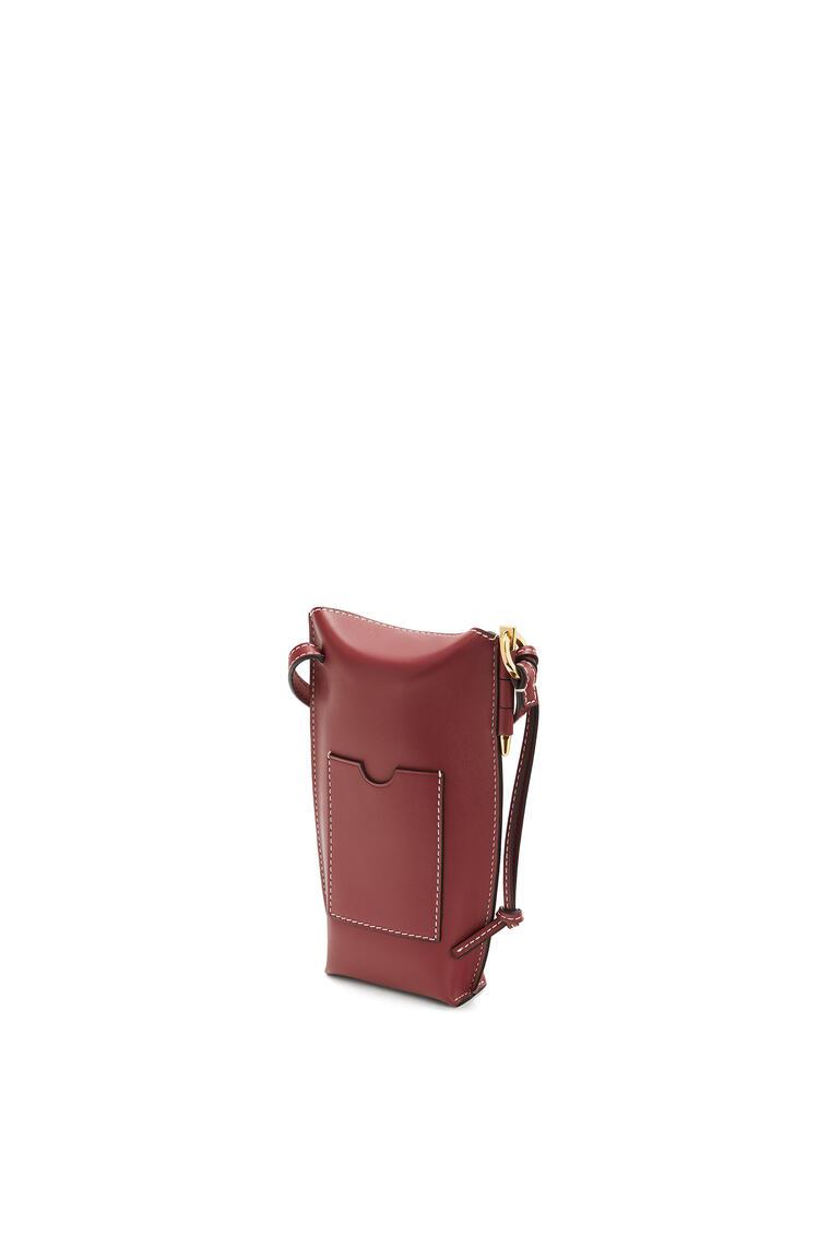 LOEWE Gate pocket in soft calfskin Rust Color pdp_rd