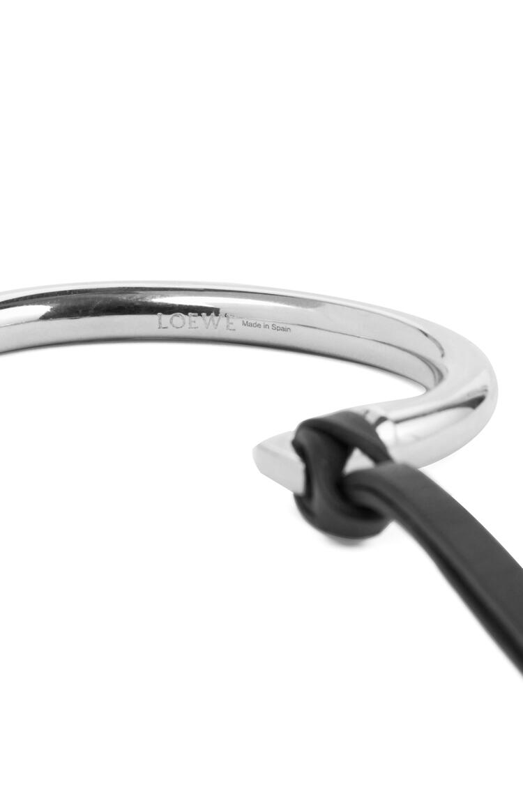 LOEWE Nail Bracelet Palladium/Black pdp_rd