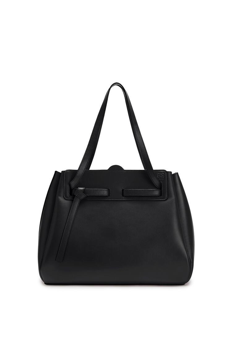 LOEWE Lazo Shopper Bag In Box Calfskin 黑色 pdp_rd