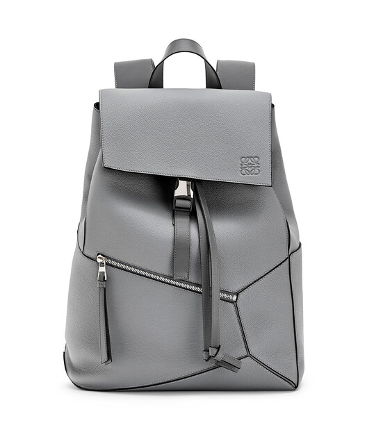 LOEWE Puzzle Backpack 鐵灰 front