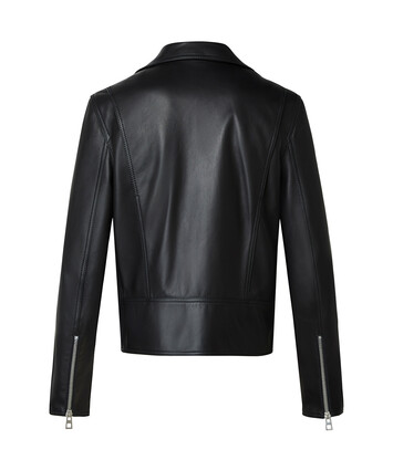 LOEWE Cazadora Biker Negro front