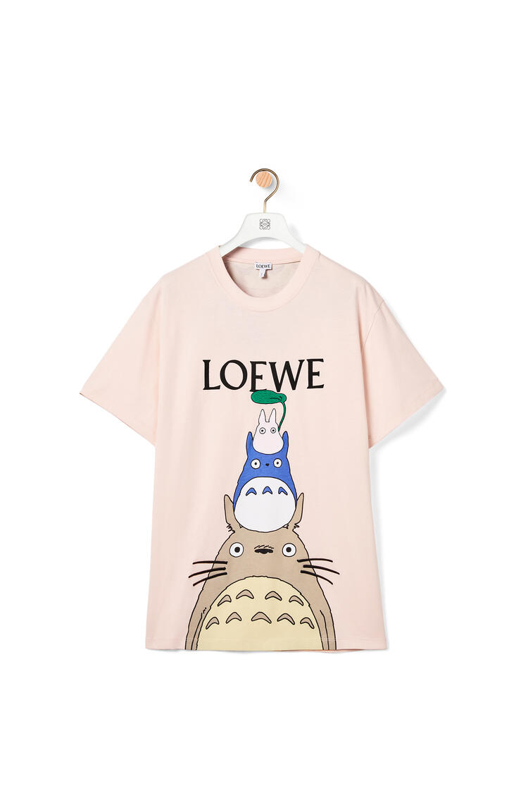 LOEWE 棉质龙猫T恤 粉色 pdp_rd