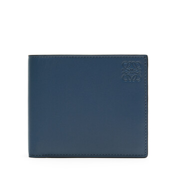 LOEWE Rainbow Bifold Wallet blue/multicolour front