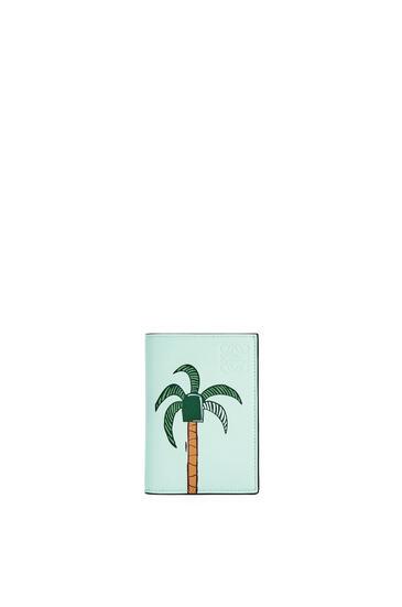 LOEWE La Palme 经典牛皮革双折卡包 Yellow Mango/Multicolor pdp_rd