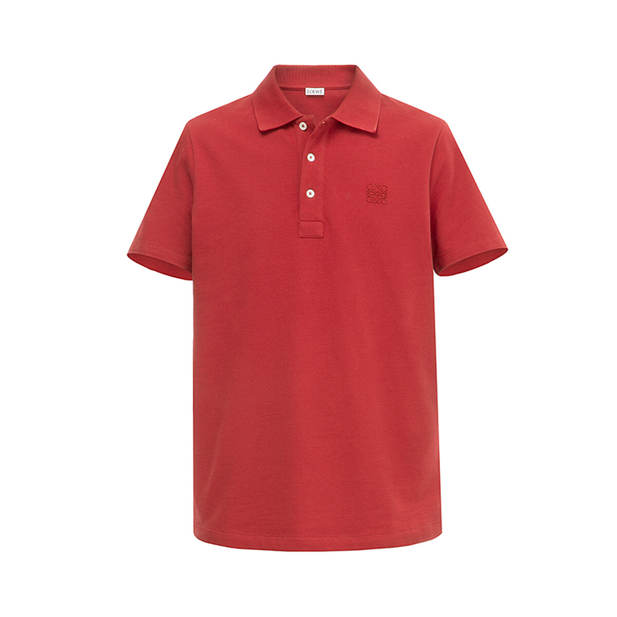 LOEWE Anagram Polo Red front