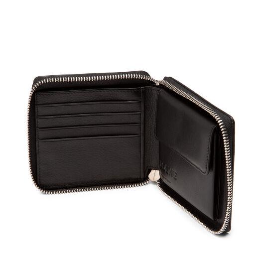 LOEWE Square Zip Wallet Black all
